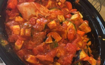 Samak – Slow cooked fish in a tasty piquant tomato sauce.